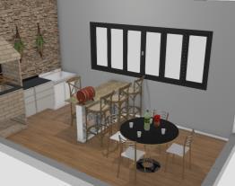 area de churrasco