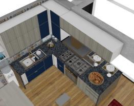 Cozinha e Bancada Altura 90 r3