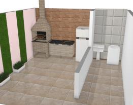 lavanderia e area de lazer