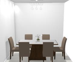 Meu projeto no Mooble sala de jantar