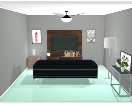 Sala de Tv - Projeto da Manu