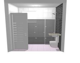 Meu projeto de banheiro no Mooble