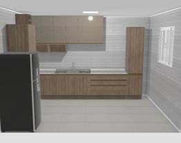 Cozinha de apartamento no Mooble
