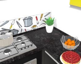Cozinha Black Yellow