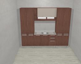 Cozinha Modulada Completa com 4 Módulos Smart Turin/Cristal - Henn