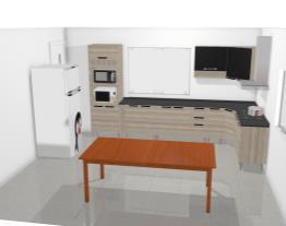 Cozinha Jazz - Medidas exatas - mesa2