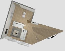 Projeto Sala/Sala de Jantar - Apartamento