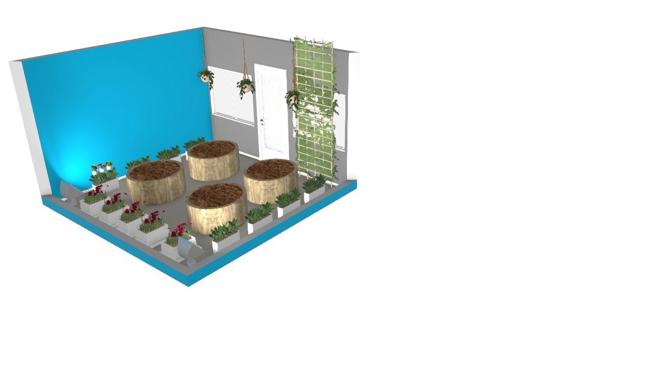Terraço eco friendly