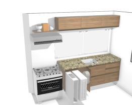 Cozinha com módulos