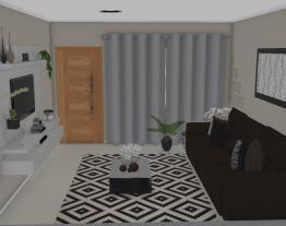 Sala casa da Fran