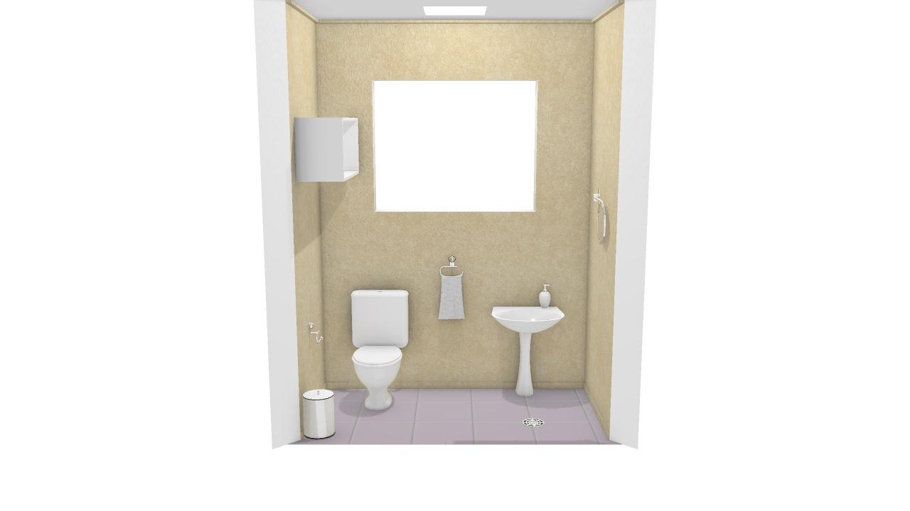 Meu projeto no Mooble lavabo