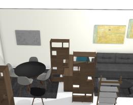 Sala de estar + sala de refeições