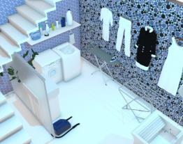 escada lavanderia