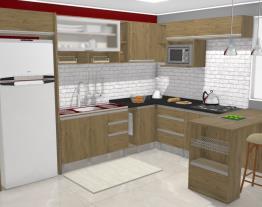 Cozinha Integra 18