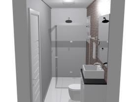 Banheiro Suíte Casa Térrea