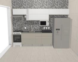 Cozinha Belíssima - projeto SIDE BY SIDE