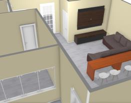 Casa para terreno 8m x 16m