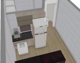 Novo cafofo cozinha