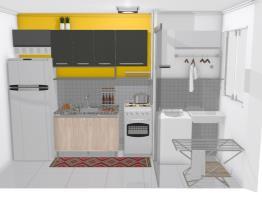 Cozinha amarela_Mona e Gui
