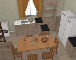 Cozinha de casa 2