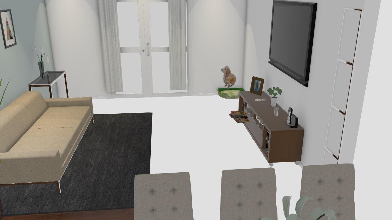 Sala + Sala de Jantar