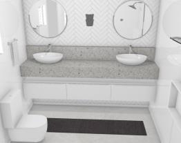 Banheiro criado pela juliana