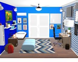 O incrivel quarto do Samu!