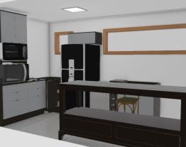 Cozinha churrsqueira