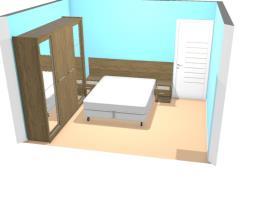 Meu projeto quarto Rustico Henn