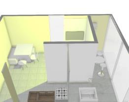 Cozinha/Sala de Estar/Lavandeira/Varanda