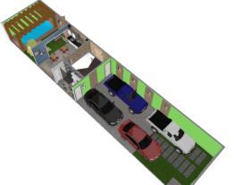 Casa baalbek morato piso garagem e area de lazer