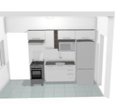 Cozinha Apartamento 2 (em Construção)
