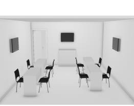 Stand ExpoOptica 2019  - Sala de reunião/Deposito