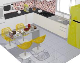 Cozinha Moderna e Retro