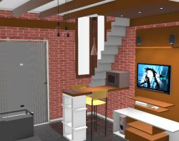 casinha sala diferent
