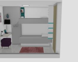 quarto de solteiro 1 parede