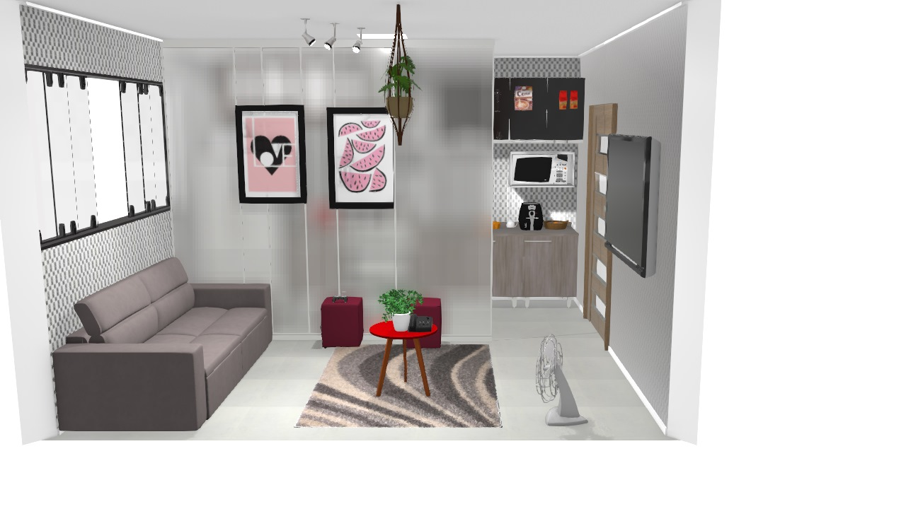 casa sala cozinha amei
