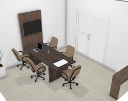 sala reunião moderna móveis