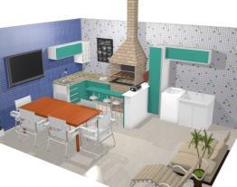 area externa churrasqueira