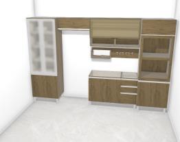 Projeto Cozinha Modulada Integra Rústico/Fendi AMANDA TORRES