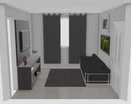 minha sala de estar pequena