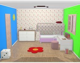 quarto ifantil menina