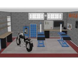 Moisa Moto Garagem