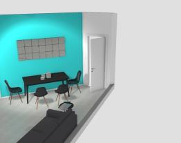 Sala de jantar/sala de estar - MESA MENOR