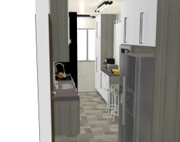 Cozinha e Área de Serviço - Leila