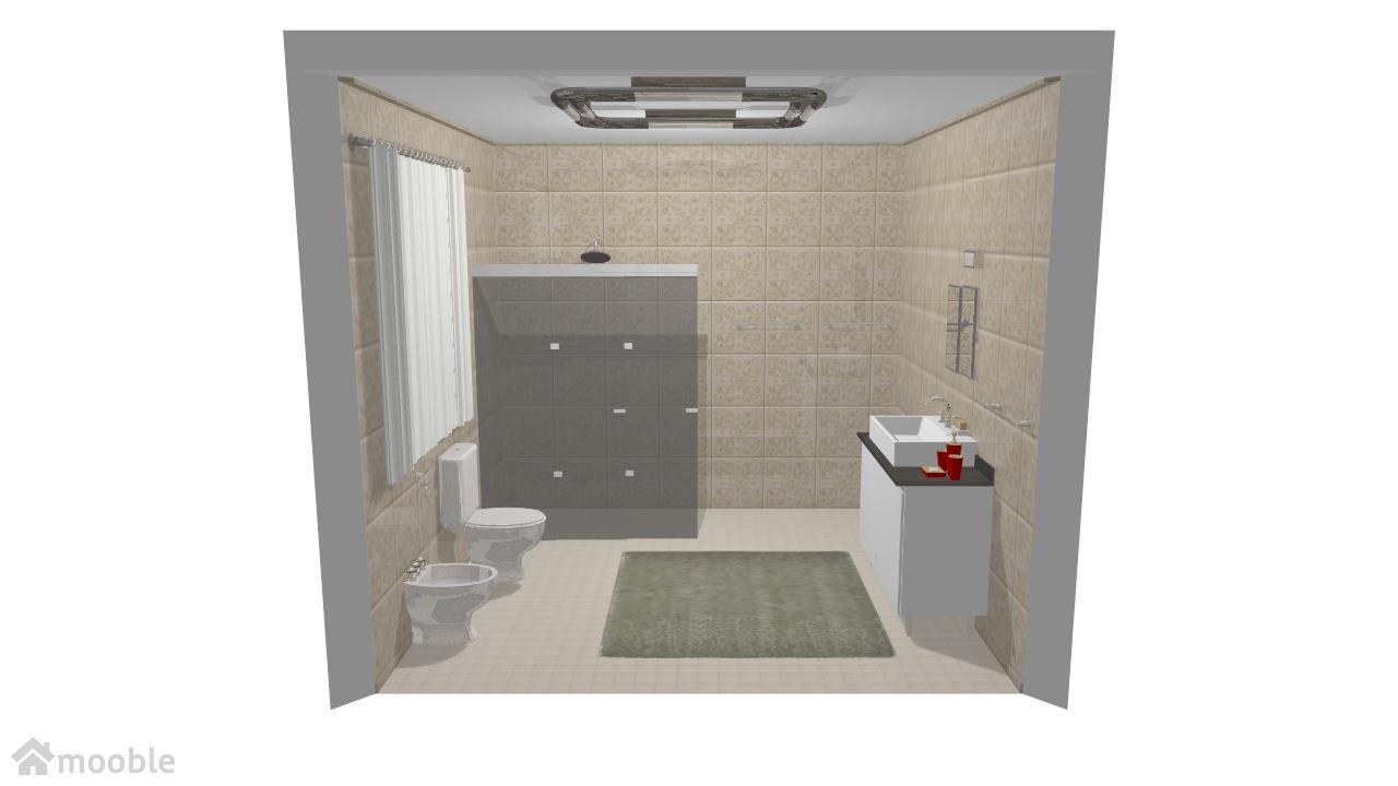 Banheiro nº 1 da Casa de Praia