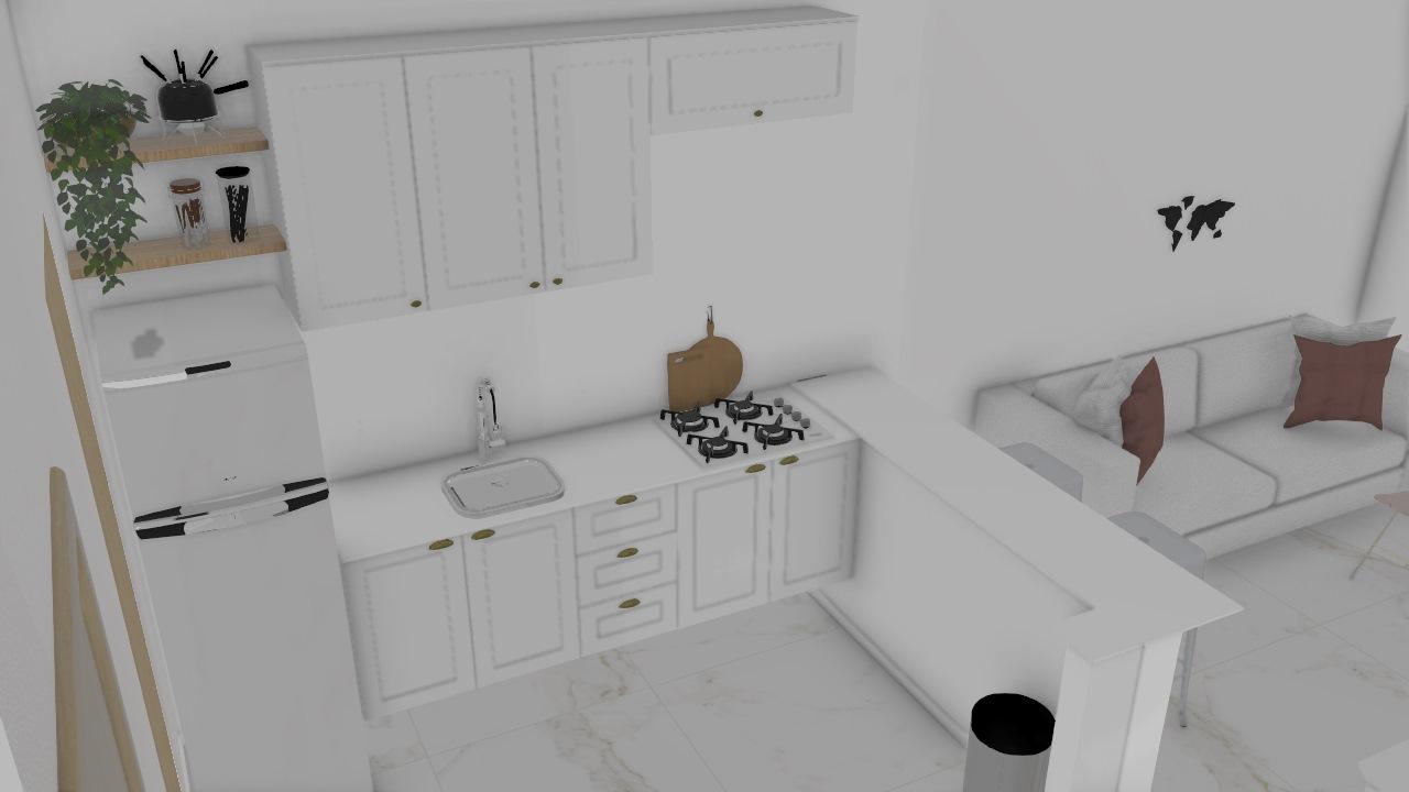 Sala/cozinha nova