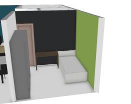 Nova sala e cozinha