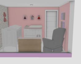 Quarto bebe e escritorio