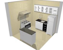 Meu projeto no Mooble (Cozinha)